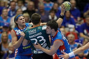 Mikkel Hansen, forsvar (AG K�benhavn), Arnor Atlason, forsvar (AG K�benhavn), Allan Damgaard, angreb (Viborg HK)