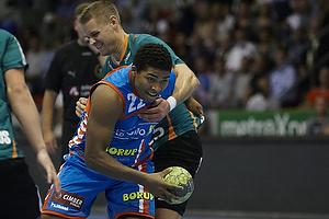 Mads Larsen, angreb (AG K�benhavn), Nicolai Hansen, forsvar (Viborg HK)