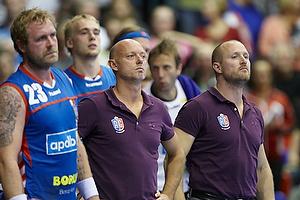 Magnus Andersson, cheftr�ner (AG K�benhavn), Klavs B. J�rgensen, cheftr�ner (AG K�benhavn)