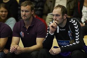 Kasper Hvidt (AG K�benhavn), S�ren Herskind, cheftr�ner (AG K�benhavn)