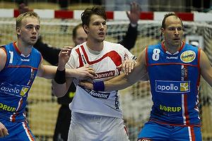 Ren� Toft Hansen, forsvar (AG K�benhavn), Lars J�rgensen, forsvar (AG K�benhavn), Frederik B�rm, angreb (KIF Kolding)