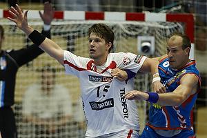 Frederik B�rm, angreb (KIF Kolding), Lars J�rgensen, forsvar (AG K�benhavn)