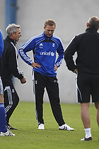 Henrik Jensen, cheftr�ner (Br�ndby IF), Dennis Rommedahl (Br�ndby IF)
