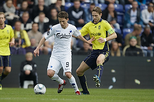 Morten Nordstrand (FC K�benhavn), Clarence Goodson, anf�rer (Br�ndby IF)
