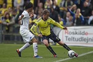 Jan Frederiksen (Br�ndby IF), Cristian Bolanos (FC K�benhavn)