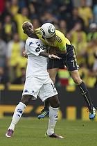 Clarence Goodson, anf�rer (Br�ndby IF), Dame NDoye (FC K�benhavn)
