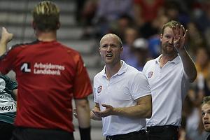 Magnus Andersson, cheftr�ner (AG K�benhavn), S�ren Herskind, cheftr�ner (AG K�benhavn)