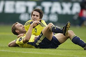 Dennis Rommedahl, m�lscorer (Br�ndby IF), Mathias Gehrt (Br�ndby IF)