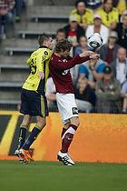 Daniel Stenderup (Br�ndby IF), Peter Madsen (Lyngby BK)