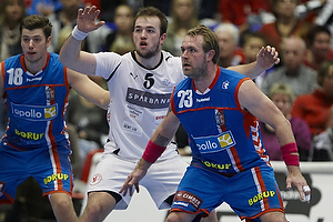 Joachim Boldsen, forsvar (AG K�benhavn), Jeppe Krogh (Skive FH)