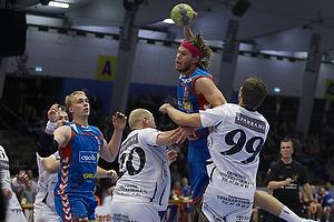 Mikkel Hansen, angreb (AG K�benhavn), Mark Betzer (Skive FH), Lars Olesen (Skive FH)