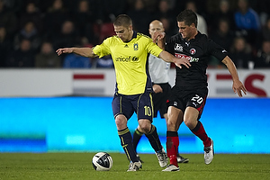Martin Bernburg (Br�ndby IF), Kristian Ipsa (FC Midtjylland)
