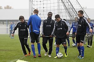 Mathias Gehrt (Br�ndby IF), Franck Semou (Br�ndby IF), Daniel Norouzi (Br�ndby IF), Brent McGrath (Br�ndby IF)