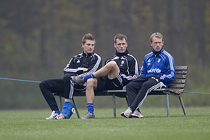 Michael T�rnes (Br�ndby IF), Thomas Rasmussen (Br�ndby IF), Michael Krohn-Dehli (Br�ndby IF)