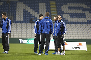 Dennis Rommedahl (Br�ndby IF), Clarence Goodson, anf�rer (Br�ndby IF), Mikael Nilsson (Br�ndby IF)