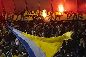 Blue front-banner