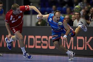Sebastian Koch-Hansen (Nordsj�lland H�ndbold), Lars J�rgensen (AG K�benhavn)