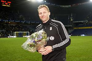 Morten Cramer, m�lmandstr�ner  (Br�ndby IF)