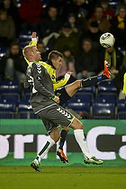 Daniel Stenderup (Br�ndby IF), Henrik Toft (AC Horsens)
