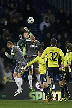 Michael T�rnes (Br�ndby IF), Henrik Toft (AC Horsens), Daniel Stenderup (Br�ndby IF)