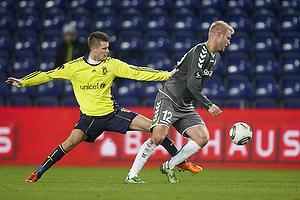 Henrik Toft (AC Horsens), Daniel Stenderup (Br�ndby IF)