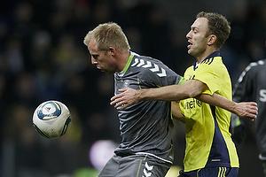 Anders N�hr (AC Horsens), Dennis Rommedahl, anf�rer (Br�ndby IF)