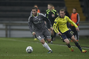 Martin Retov (AC Horsens), Michael Krohn-Dehli (Br�ndby IF)