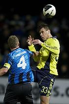 Dario Dumic (Br�ndby IF), Thomas Guldborg, anf�rer (HB K�ge)