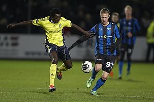 Oluwafemi Ajilore (Br�ndby IF), Marcel R�mer (HB K�ge)