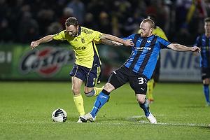 Lasse Kronborg (HB K�ge), Dennis Rommedahl (Br�ndby IF)
