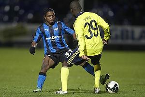 Franck Semou (Br�ndby IF), Adeola Runsewe (HB K�ge)