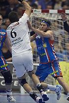 Mikkel Hansen (AG K�benhavn), Anders Oechsler (KIF Kolding)