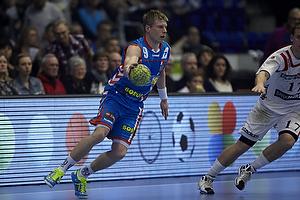 Gudj�n Valur Sigurdsson (AG K�benhavn), Rasmus Jensen (KIF Kolding)