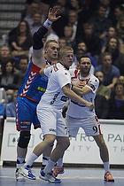 Ren� Toft Hansen (AG K�benhavn), Anders Munch (KIF Kolding), Lars Christiansen (KIF Kolding)