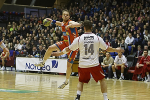 Snorri Gudj�nsson (AG K�benhavn), Lasse Sinding (Ajax K�benhavn)