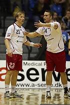 Christian K�hler (Ajax K�benhavn), Lasse Sinding (Ajax K�benhavn)