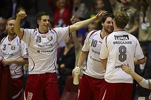 Lasse Visby (Ajax K�benhavn), Simon Radoor (Ajax K�benhavn), Patrick Brogaard (Ajax K�benhavn)
