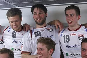 Patrick Brogaard (Ajax K�benhavn), Simon Radoor (Ajax K�benhavn), Lasse Visby (Ajax K�benhavn)