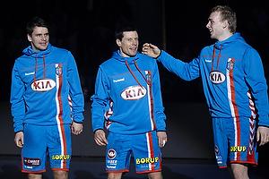 Arn�r Atlason (AG K�benhavn), Gudj�n Valur Sigurdsson (AG K�benhavn), Ren� Toft Hansen (AG K�benhavn)