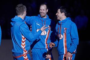 Lars J�rgensen (AG K�benhavn), Snorri Gudj�nsson (AG K�benhavn), Gudj�n Valur Sigurdsson (AG K�benhavn)