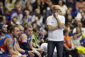 Magnus Andersson, cheftr�ner (AG K�benhavn), Ren� Toft Hansen (AG K�benhavn)
