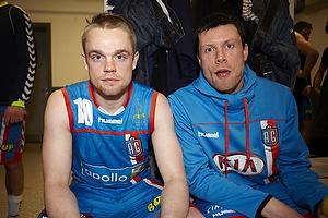 Snorri Gudj�nsson (AG K�benhavn) og Gudj�n Valur Sigurdsson (AG K�benhavn) med ny frisure