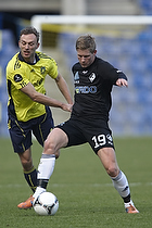 Oliver Feldballe (Randers FC). Dennis Rommedahl (Br�ndby IF)
