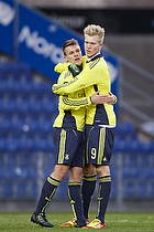 Nicolaj Agger, m�lscorer (Br�ndby IF), Simon Makienok Christoffersen (Br�ndby IF)