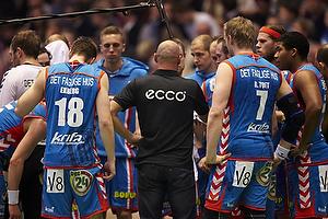 Magnus Andersson, cheftr�ner (AG K�benhavn) kalder til timeout