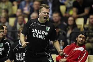 Krister Lindgren, cheftr�ner (Skjern H�ndbold)