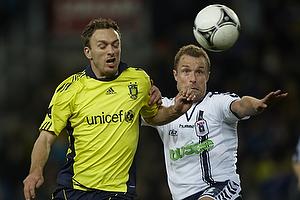 Dennis Rommedahl (Br�ndby IF), Hjalte N�rregaard (Agf)