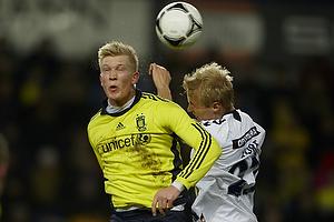 Simon Makienok Christoffersen (Br�ndby IF), Anders Kure (Agf)