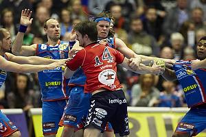 Cristian Malmagro (AG K�benhavn), Lars J�rgensen (AG K�benhavn), Mikkel Hansen (AG K�benhavn), Torben Vinther (Lemvig-Thybor�n H�ndbold)