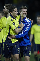 Jan Kristiansen (Br�ndby IF), Nicolaj Agger (Br�ndby IF)